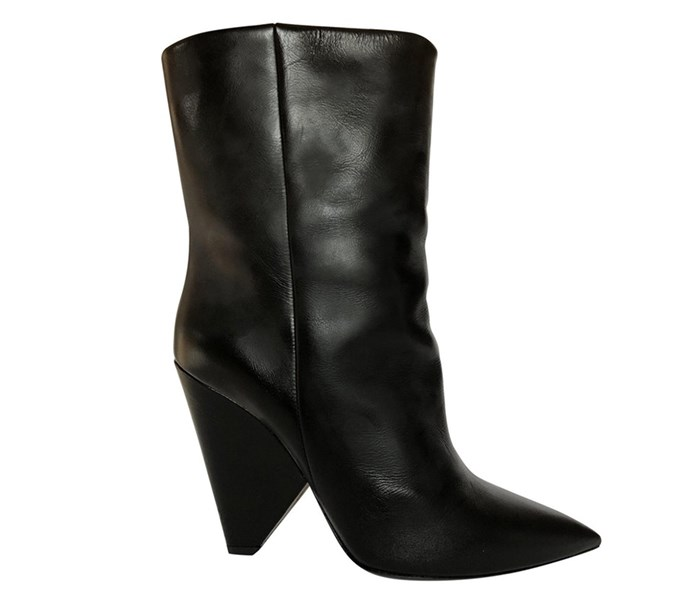 "**Grace O'Neill, acting fashion editor:**  <br><br> I love YSL's accessories and these slouchy-style heeled leather boots are on my wish-list for winter. I buy a lot of pre-owned luxury as it tends to stop me from buying super trend driven pieces I'll later regret and instead pushes me to invest in well-made classics that will have longevity. <br><br> [YSL boots](https://www.vestiairecollective.com/women-shoes/ankle-boots/saint-laurent/black-leather-saint-laurent-ankle-boots-5491848.shtml|target=""_blank""