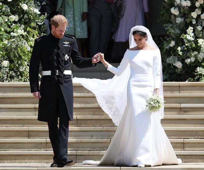 Victoria Beckham On Meghan Markle's Wedding Gown