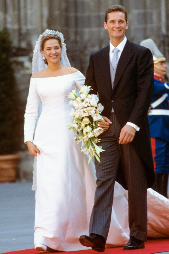 Princess Infanta Christina of Spain in 1997.