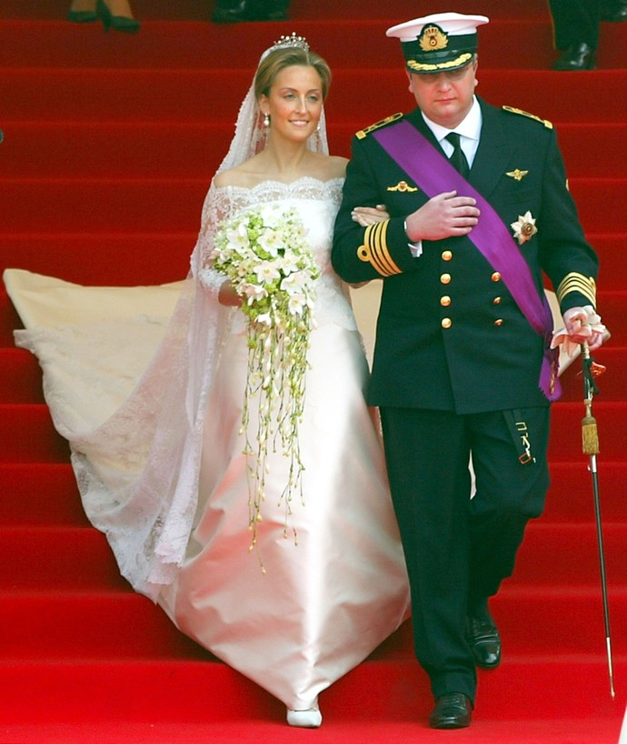Princess Claire of Belgium in 2003.