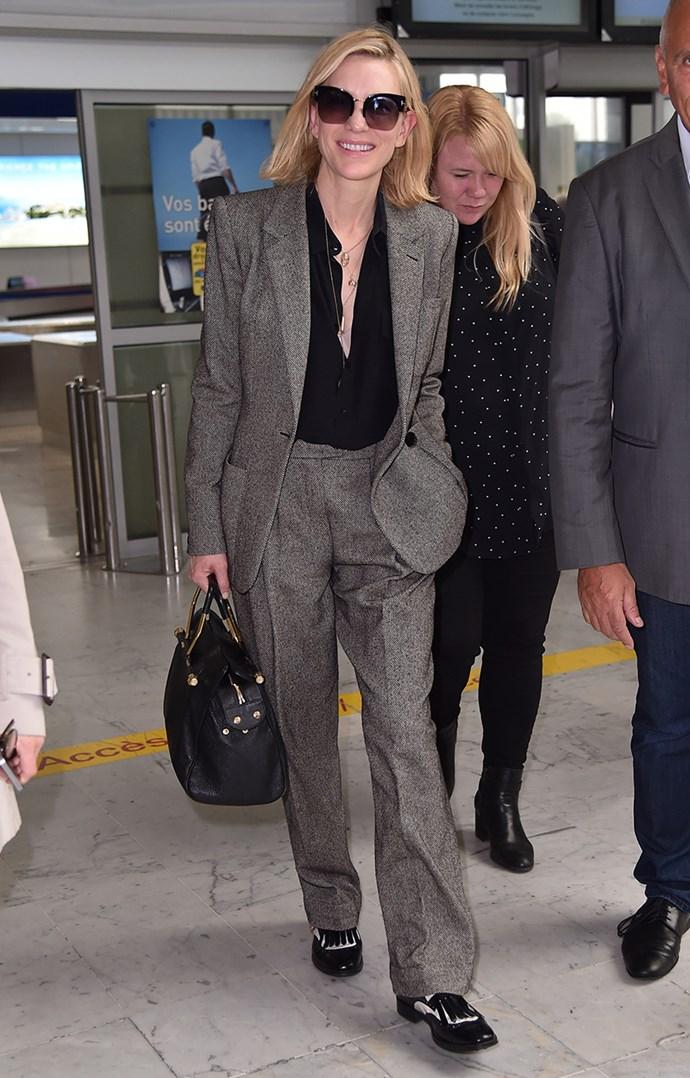 At Nice Airport on 6 May, 2018.