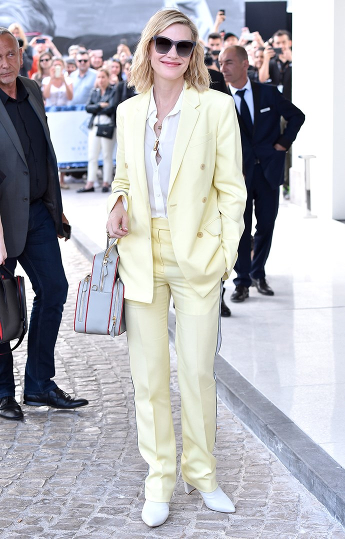 At the Hotel Martinez in Cannes on 7 May, 2018.