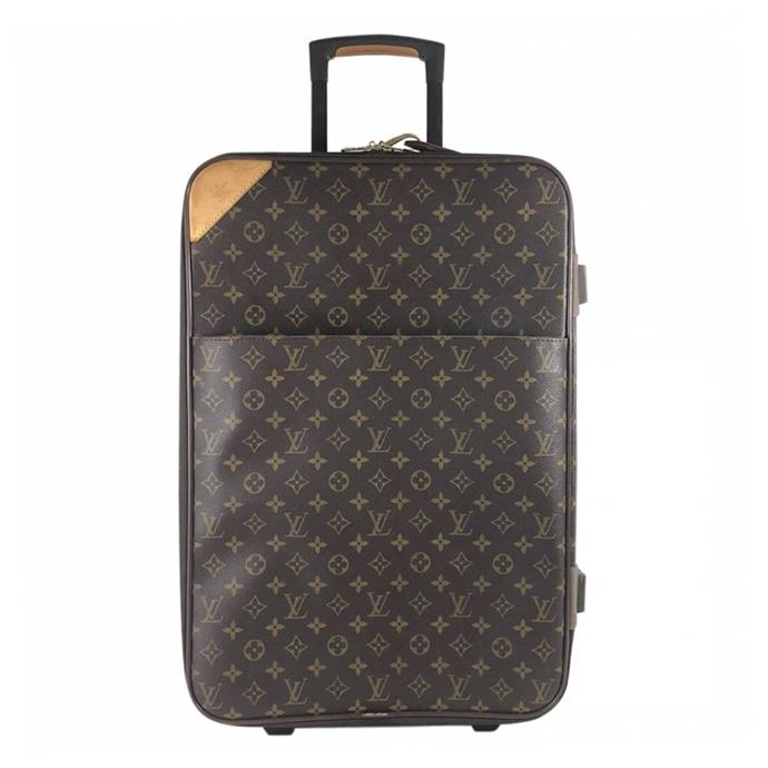 "**Natasha Harding, digital fashion writer:**  <br><br> Louis Vuitton's monogram suitcase will never go out of style, making it one of those rare fashion pieces that you rarely buy new, but rather inherit, and pass down through the generations as a designer heirloom.  <br><br> [Louis Vuitton suitcase](https://www.vestiairecollective.com/women-bags/travel-bags/louis-vuitton/brown-cloth-pegase-louis-vuitton-travel-bag-4926907.shtml|target=""_blank""