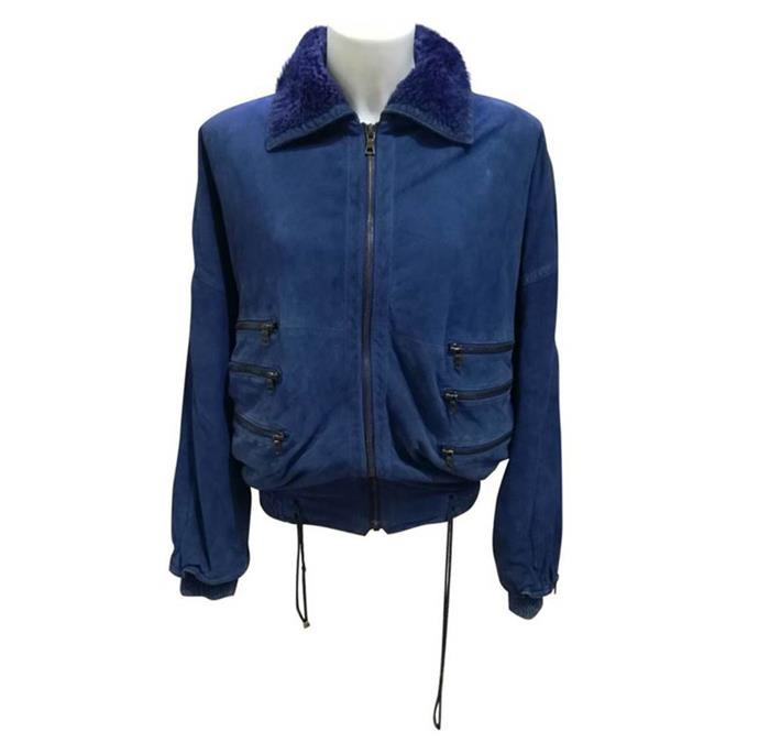 "**Tom Lazarus, chief sub-editor:**  <br><br> There is precisely nothing that isn't perfect about this vintage Gianni Versace leather jacket in Italian-team-soccer-shirt blue. You'd be looking forever for anything like this new in stores, so it's exactly the kind of find that fuels a vintage-hunter's fire. Love the fuzzy collar, the triple zip pockets, and I'm particularly appreciating the use of the word ""stupendo"" in seller Vincenzo's description.  <br><br> [Versace jacket](https://www.vestiairecollective.com/men-clothing/jackets/gianni-versace/blue-leather-gianni-versace-jacket-5750282.shtml