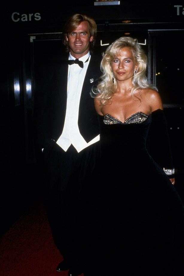Donatella Versace in 1989.