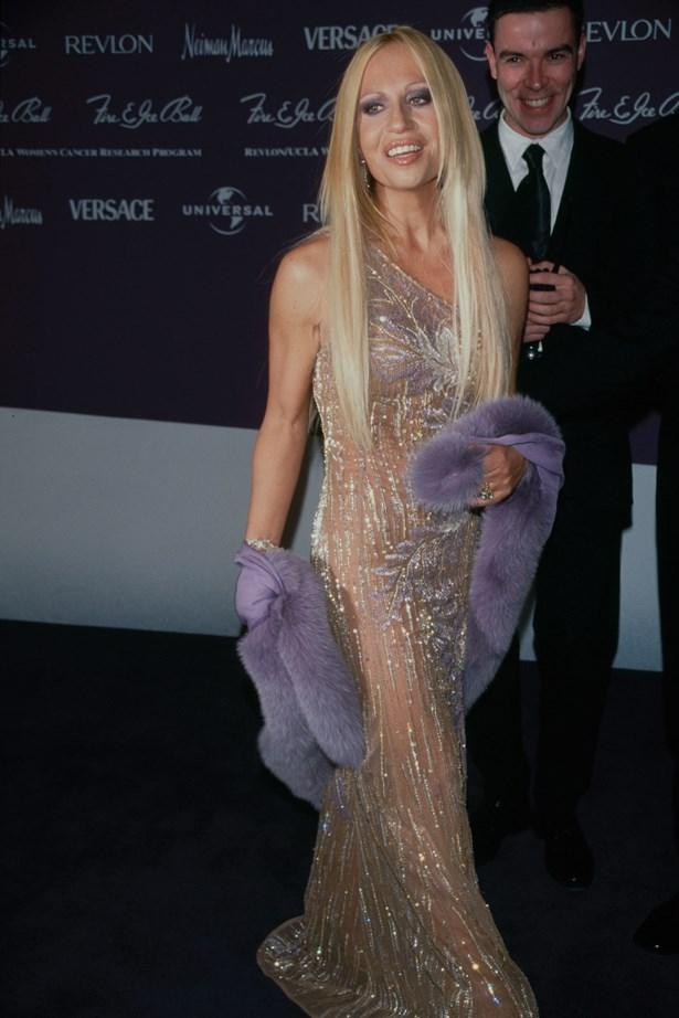 Donatella Versace in 1995.