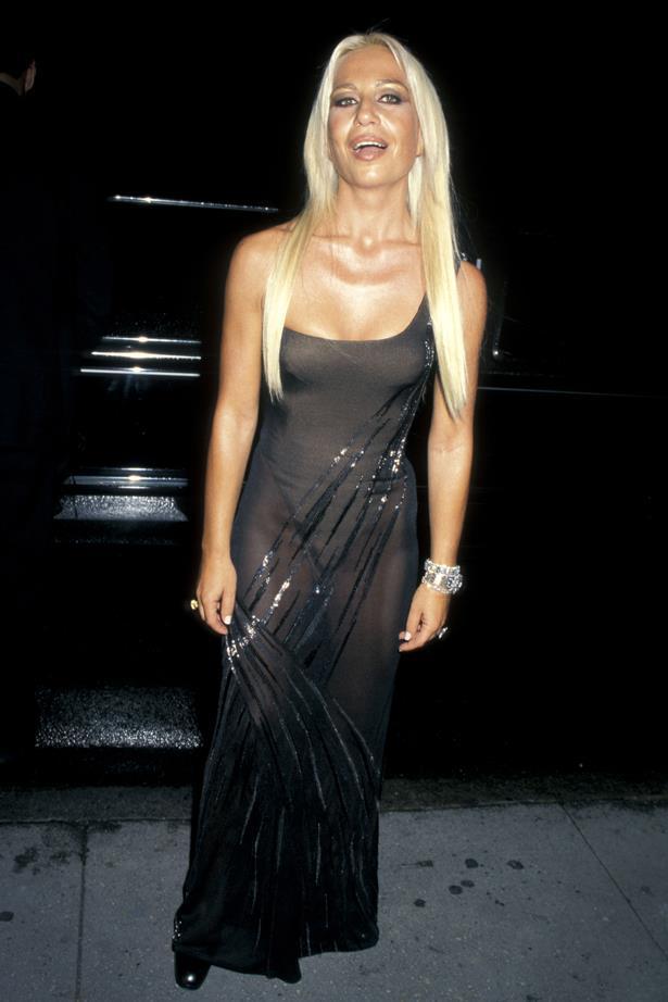 Donatella Versace in 1996.