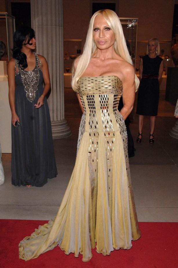 Donatella Versace in 2007.