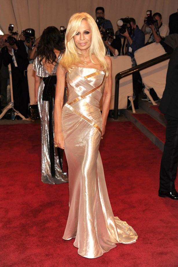 Donatella Versace in 2010.