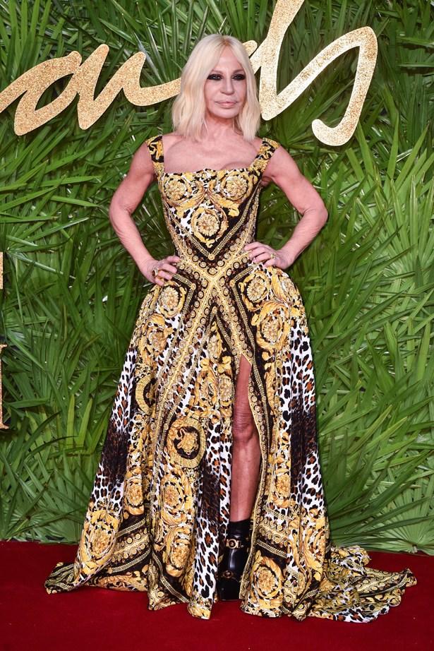 Donatella Versace in 2017.