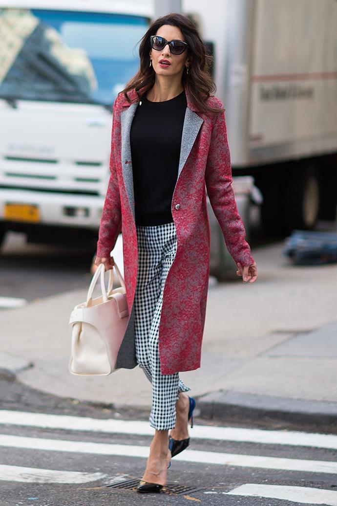 Wearing head-to-toe Altuzarra in New York City on September 17, 2016