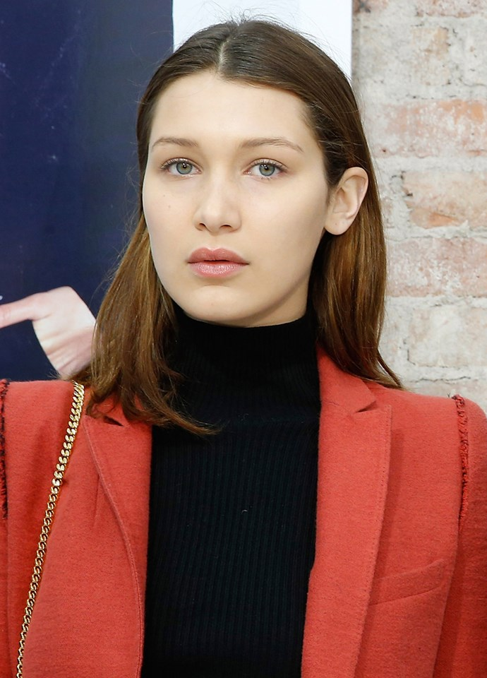 Bella Hadid at the OnePiece concept store opening in New York City on November 7, 2014.