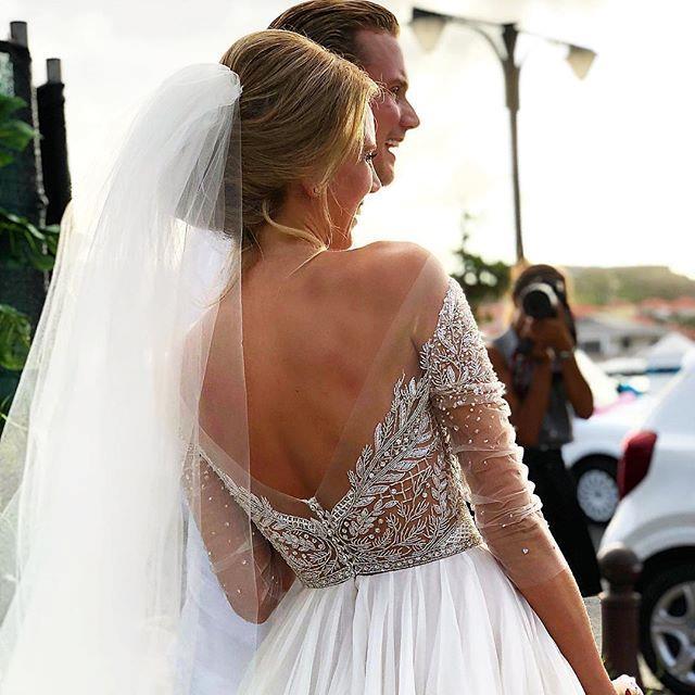 "**The bride and groom**  Instagram: [@watters](https://www.instagram.com/p/Bjm6htkF1sO/ target=""_blank"" rel=""nofollow"")"