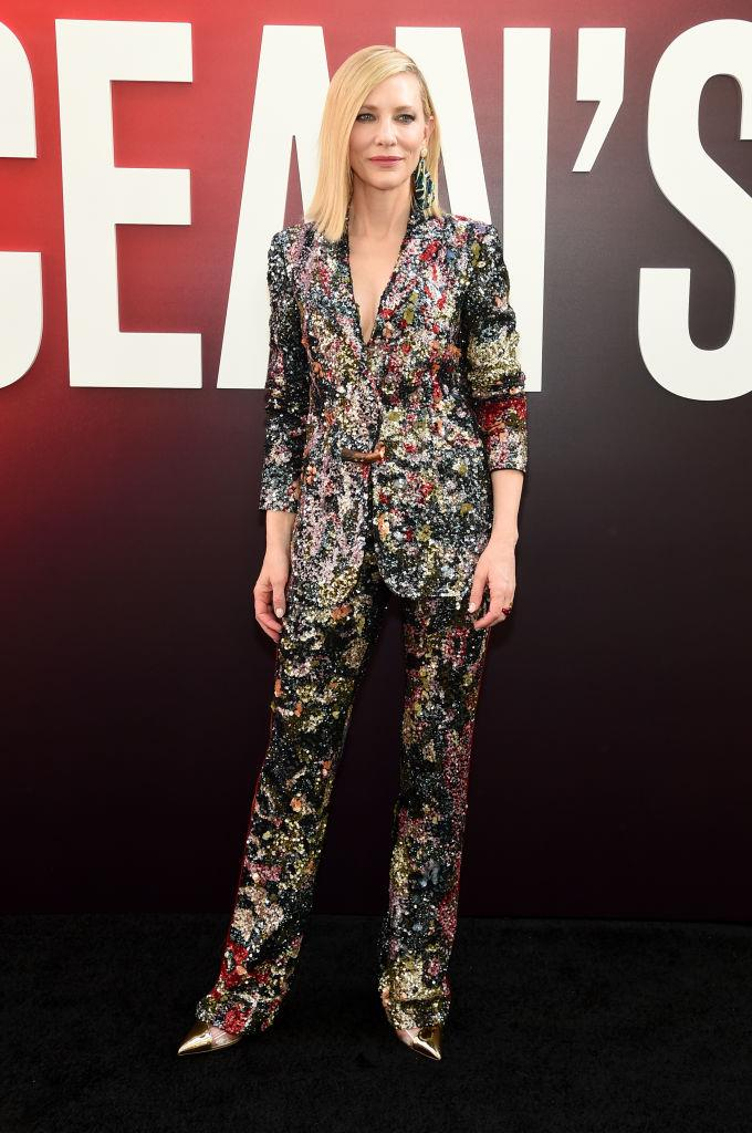 Cate Blanchett in Missoni.   Image: Getty