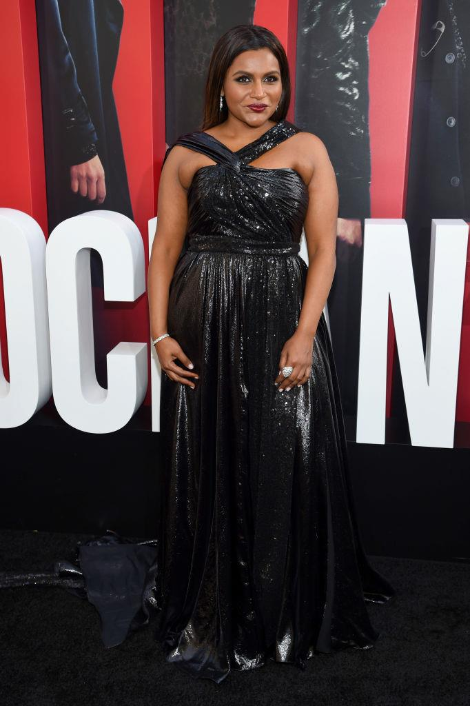 Mindy Kaling in Prabal Gurung.   Image: Getty