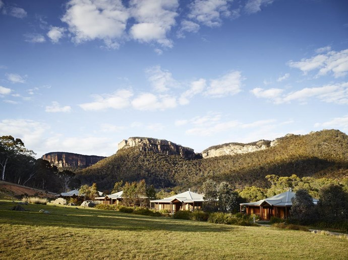 """**Wolgan Valley**   Also located in the Blue Mountains, Wolgan Valley is a nature lover's dream. A three hours drive from Sydney, [Emirates One&Only Wolgan Valley](https://www.booking.com/hotel/au/wolgan-valley-resort.en-gb.html?aid=304142;label=gen173nr-1DCAsoD0IabWlsdG9uLXBhcmstY291bnRyeS1ob3VzZS1IM1gEaA-IAQGYAS64AQfIAQzYAQPoAQH4AQKSAgF5qAID;sid=cb8496a253f604d6536037224bcbf632;all_sr_blocks=31602005_91314879_2_21_0;bshb=2;checkin=2018-10-19;checkout=2018-10-22;dest_id=-1591399;dest_type=city;dist=0;group_adults=2;hapos=1;highlighted_blocks=31602005_91314879_2_21_0;hpos=1;room1=A%2CA;sb_price_type=total;srepoch=1528431277;srfid=7a0232830874ed2d81d866019c9e6ebab05bfa05X1;srpvid=5dee1dd62a600142;type=total;ucfs=1&#hotelTmpl