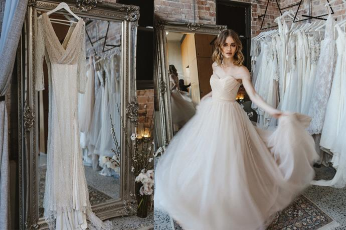 "**Eastern Suburbs**  <br><br> **[Moira Hughes Couture Boutique](http://moirahughes.com.au/|target=""_blank""), Paddington**  <br><br> Nestled in the heart of Paddington, Moira Hughes's bespoke bridal pieces evoke innovative design and Parisian corsetry techniques. <br><br>  *2 Heeley St, Paddington NSW* <br><br> *Instagram[@moirahughescouture](https://www.instagram.com/moirahughescouture/