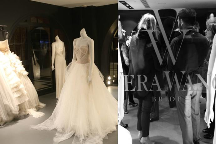 "**Sydney CBD** <br><br> **[Vera Wang](https://www.verawang.com/stores/?store=17452&category=Flagship|target=""_blank""), Sydney City** <br><br>  From classy to contemporary, Vera Wang plays with timeless silhouettes and modern aesthetics.   <br> *InterContinental Sydney, 117 Macquarie St, Sydney NSW* <br><br>  *Instagram[@verawanggang](https://www.instagram.com/verawanggang/