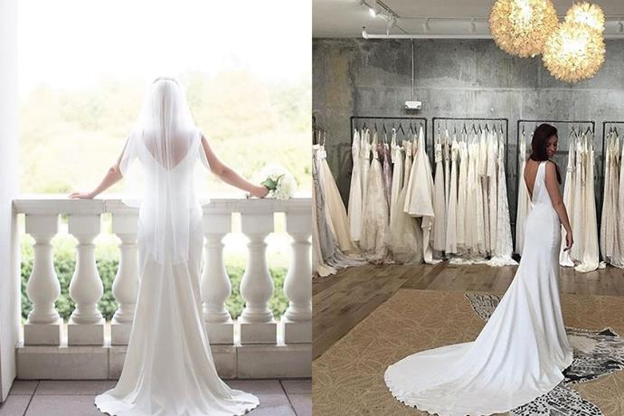 "**Sydney CBD** <br><br> **[Sarah Janks](https://www.sarahjanks.com/|target=""_blank""), Sydney City**  <br><br>  From the finest fabrics and laces, Sarah Jank's organic and feminine forms translates to a modern and elegant bride.  <br><br>  *1/138 Spit Rd, Mosman NSW* <br><br> *Instagram[@sarahjanks](https://www.instagram.com/sarahjanks/