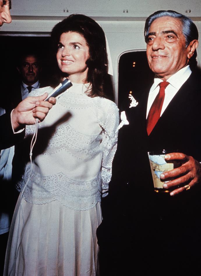 Jackie Kennedy and Aristotle Onassis