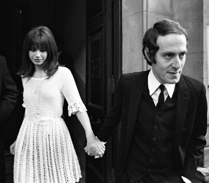 Jane Birkin and John Barry, 1965