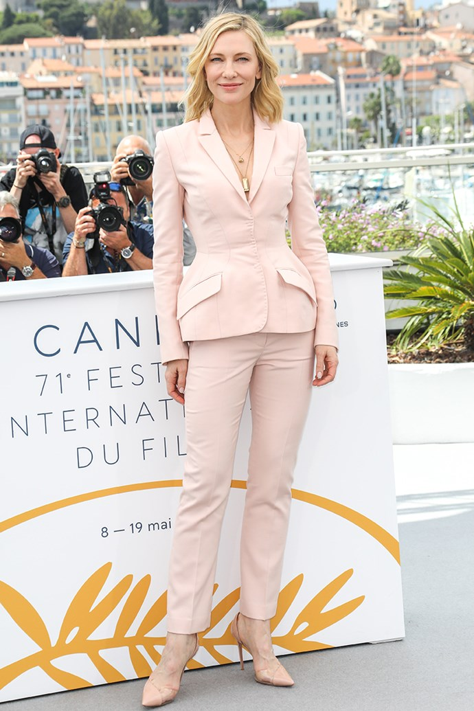 Cate Blanchett at Cannes Film Festival on 8 May, 2018