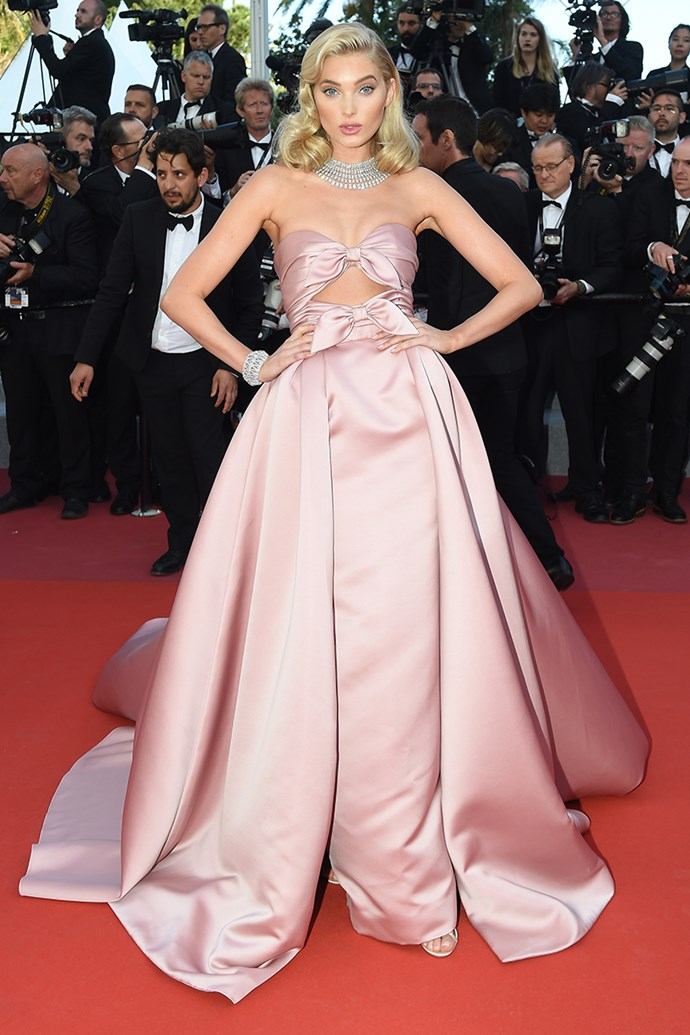 Elsa Hosk at the Cannes Film Festival on 12 May, 2018