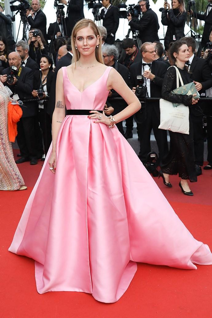 Chiara Ferragni at Cannes Film Festival on 13 May, 2018