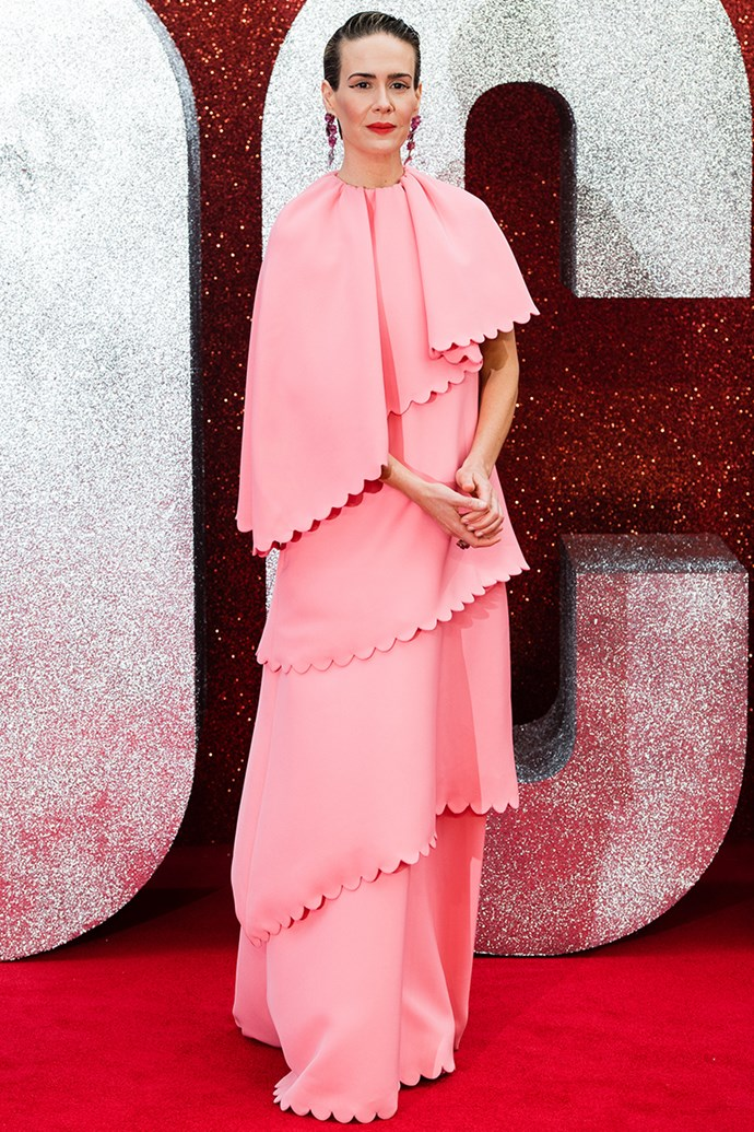 Sarah Paulson at the *Ocean's 8* UK Premiere in London on 13 June, 2018