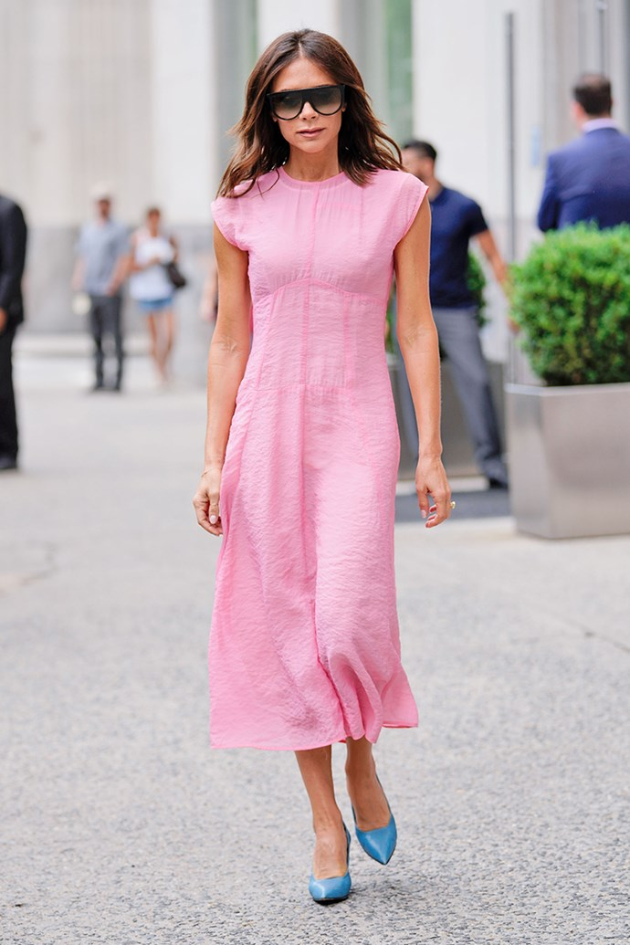 Victoria Beckham in New York City on 19 June, 2018