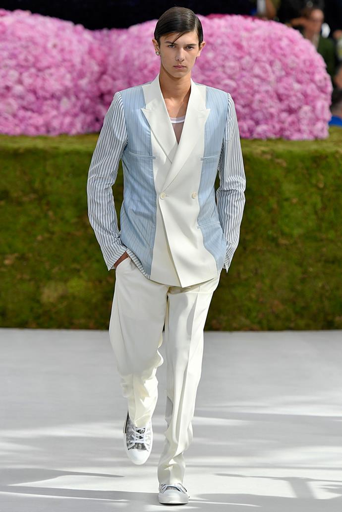 Prince Nikolai of Denmark, Dior spring/summer '19