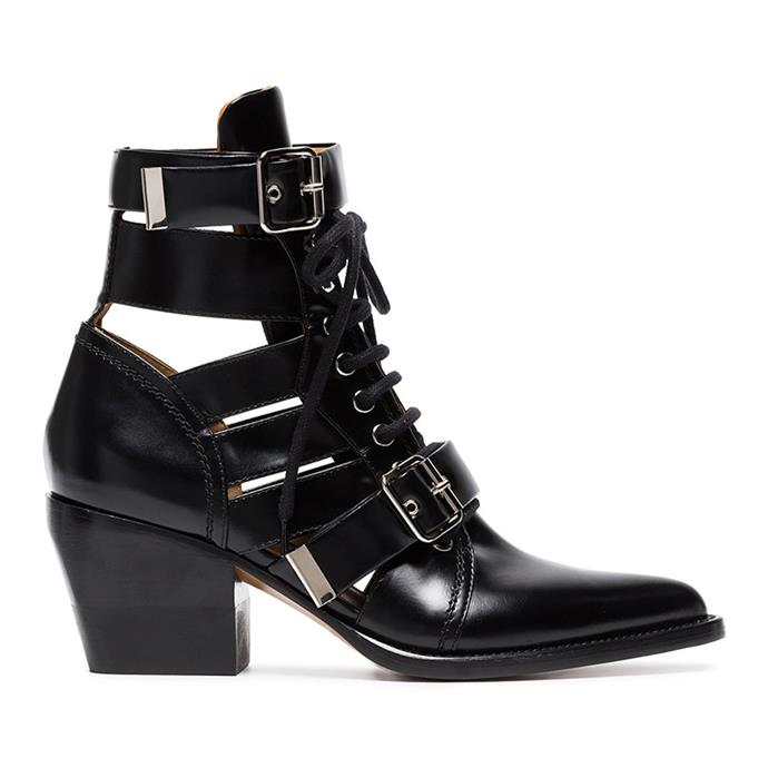 "**Grace O'Neill, digital fashion editor** <br><br> I really need a good winter boot this season and I'm completely in love with this style by Chloé. I'm so into everything Natacha Levi-Ramsay is doing at Chloé, and her entire femininity-meets-grit aesthetic is tied up in the Rylee 60 style. I was hoping they'd go on sale this sale season, but since they're selling out everywhere I may have to bite the bullet and pay full price. <br><br> Chloé boots, $1,926, from [Farfetch](https://www.farfetch.com/au/shopping/women/chloe--black-rylee-60-leather-buckle-ankle-boots-item-12712553.aspx?storeid=9462&size=27&pid=googleadwords_int&af_channel=Search&c=869412447&af_c_id=869412447&af_siteid=&af_keywords=pla-413554958822&af_adset_id=54403999628&af_ad_id=218171844155&is_retargeting=true&foundit=yes&gclid=EAIaIQobChMIwdGv-cLt2wIVWAwrCh37nAw6EAYYAiABEgKp2fD_BwE|target=""_blank""