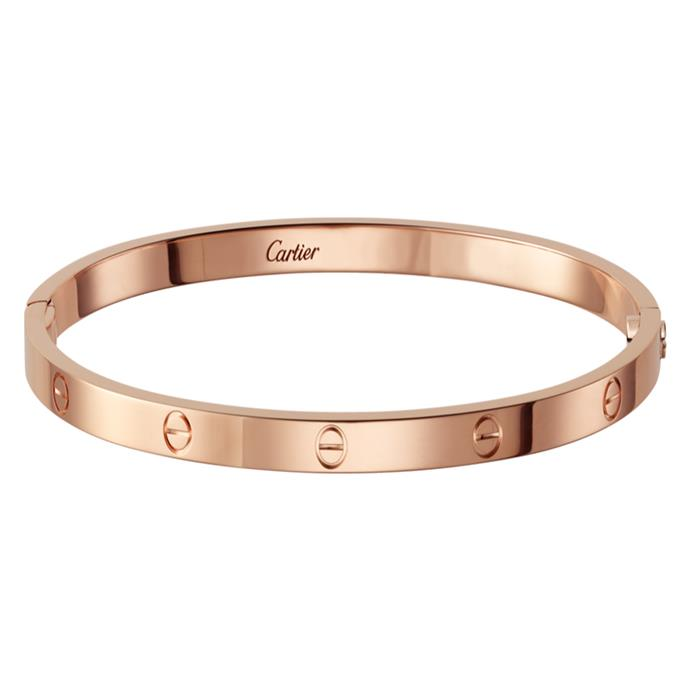"**Naomi Smith, fashion director**  <br><br> In my dreams I want a Cartier Love bracelet – mini size, pink gold. <br><br> Cartier bracelet, $5,700, from [Cartier](http://www.au.cartier.com/en-au/collections/jewelry/collections/love/bracelets/b6047317-love-bracelet,-sm.html|target=""_blank""
