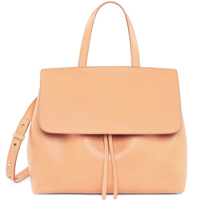 "**Ana Eksouzian-Cavadas, digital beauty writer** <br><br> Although my love of cross-body bags runs deep, it's also seen me lugging around an extra tote bag or two for years. It's high time I purchased something slightly larger and a lot more practical.  <br><br> Mansur Gavriel Cammello Lady Bag, $1,295 at [Mansur Gavriel](https://www.mansurgavriel.com/products/cammello-lady-bag-rosa|target=""_blank""