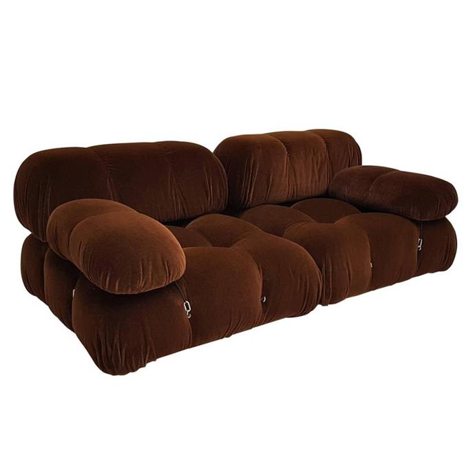 "**Stephanie Huxley, deputy art director**  <br><br> This chocolate brown velvet cloud of a sofa by Mario Bellini is top of my wishlist right now. <br><br> Mario Bellini sofa, $11,362, from [1stdibs](https://www.1stdibs.com/furniture/seating/armchairs/mario-bellini-camaleonda-modular-sofa-bb-italia-1970s/id-f_11102701/|target=""_blank""