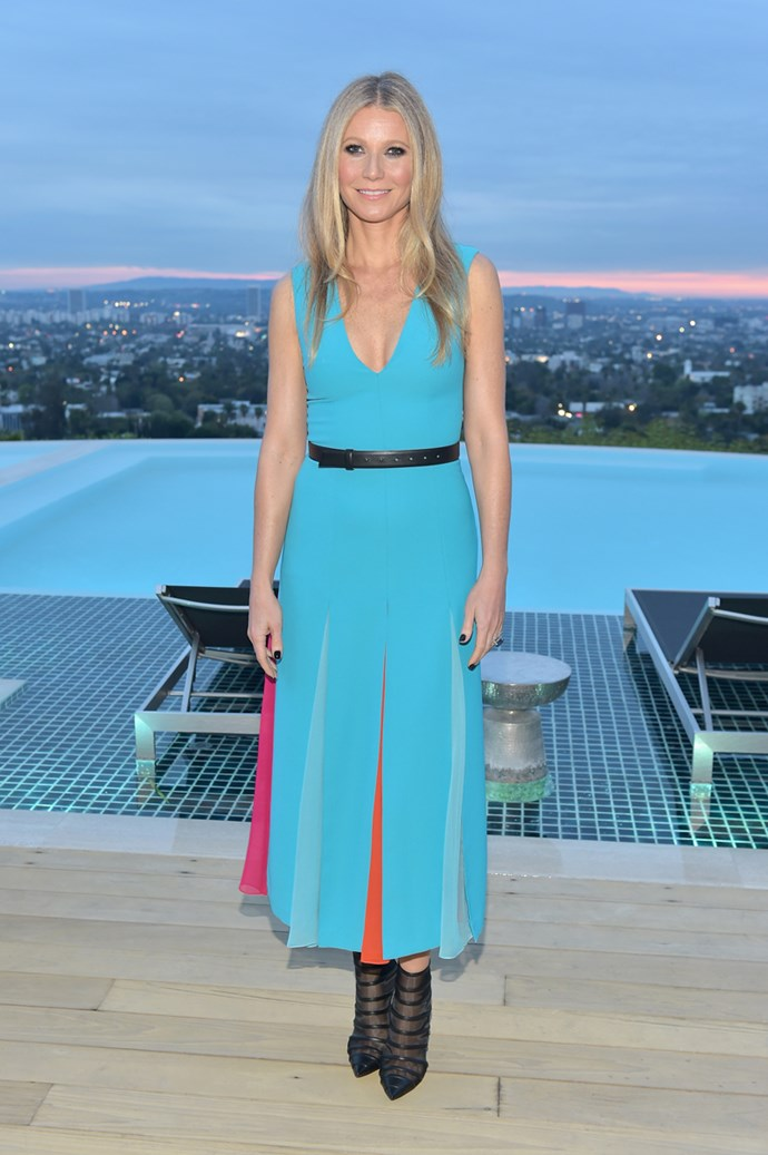 Wearing Carolina Herrera at The Hollywood Reporter and Jimmy Choo Power Stylists Dinner in Los Angeles on 20 March, 2018