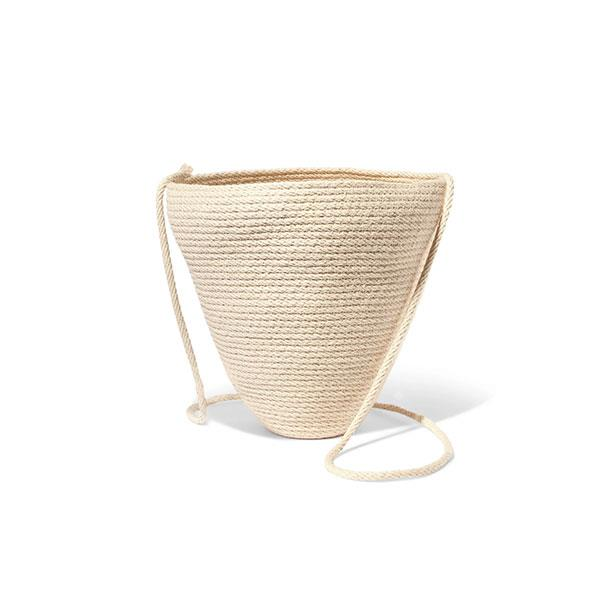 """A woven shoulder bag is the most sophisticated way to lug around your essentials. We like the simplicity of the designs from Berlin-based Catzorange. <br>br> Bag by Catzorange, $296 at [Net-a-Porter](https://www.net-a-porter.com/au/en/product/1072210/Catzorange/woven-cotton-bucket-bag