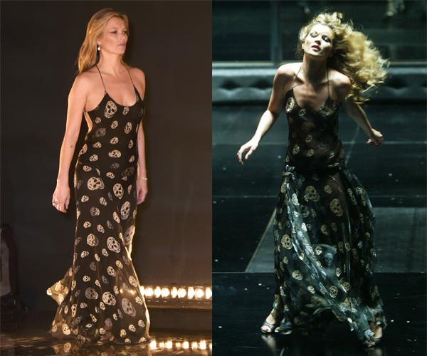 "**KATE MOSS** <br><br> [Kate Moss](https://www.harpersbazaar.com.au/celebrity/kate-moss-style-file-12240|target=""_blank"") has long been known for her collaborations with [Alexander McQueen](https://www.harpersbazaar.com.au/fashion/kate-middleton-alexander-mcqueen-history-13462