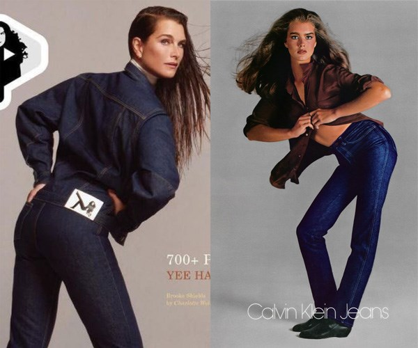 """**BROOKE SHIELDS** <br><br> When she was only fifteen years old, [Brooke Shields](https://www.harpersbazaar.com.au/fashion/brooke-shields-reunite-calvin-klein-13488