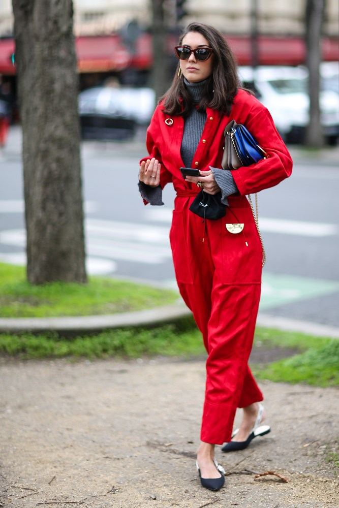 "***With your boilersuit***<br> Boilersuits—one of the undisputed [trends of the season](https://www.harpersbazaar.com.au/preview/fashion/winter-jumpsuits-16768|target=""_blank"")—are usually warm enough on their own, but if the mercury is particularly low, adding a turtleneck warms you up and allows you to unbutton a little. Win-win."