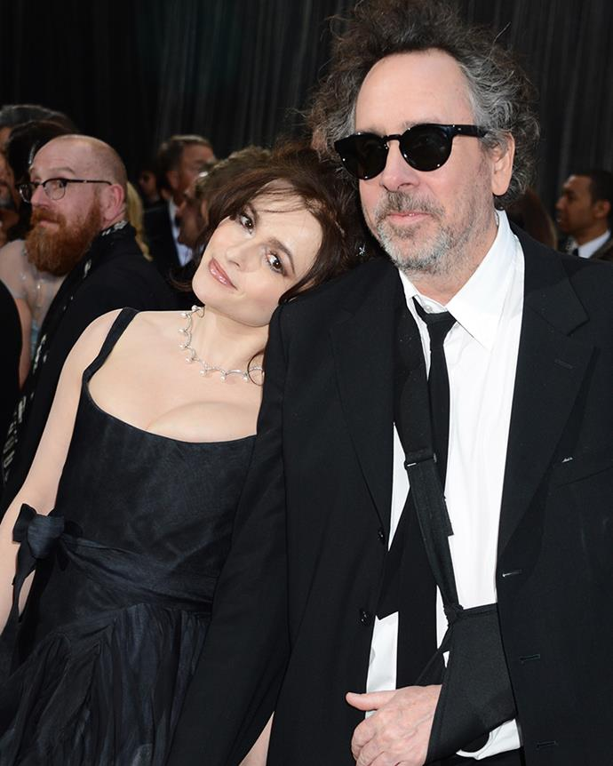 """**Helena Bonham Carter and Tim Burton  ** <br><br> Helena Bonham Carter and Tim Burton were together for 13 years and, throughout their relationship, the pair lived in separate sides of a conjoined property. The reason? Burton reportedly snored and had unusual sleeping patterns. But Helena [swore](http://www.dailymail.co.uk/femail/article-1342011/The-odd-couple-revealed-Helena-Bonham-Carter-Tim-Burtons-snoring-bossiness-driven-twin-homes.html