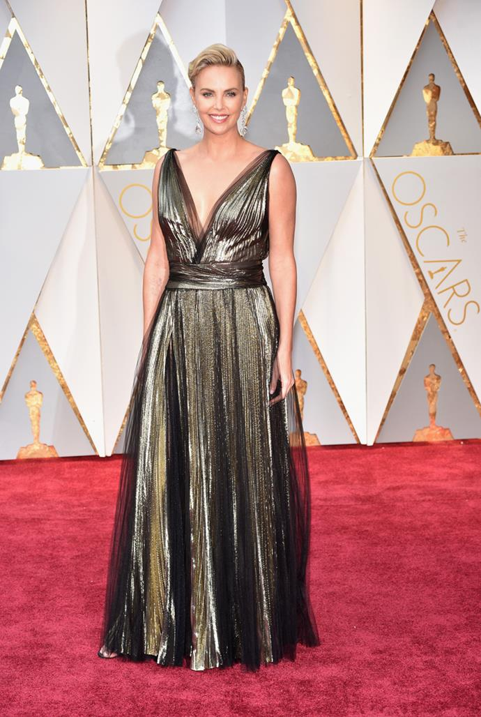 Charlize Theron at the 89th Academy Awards, 2017
