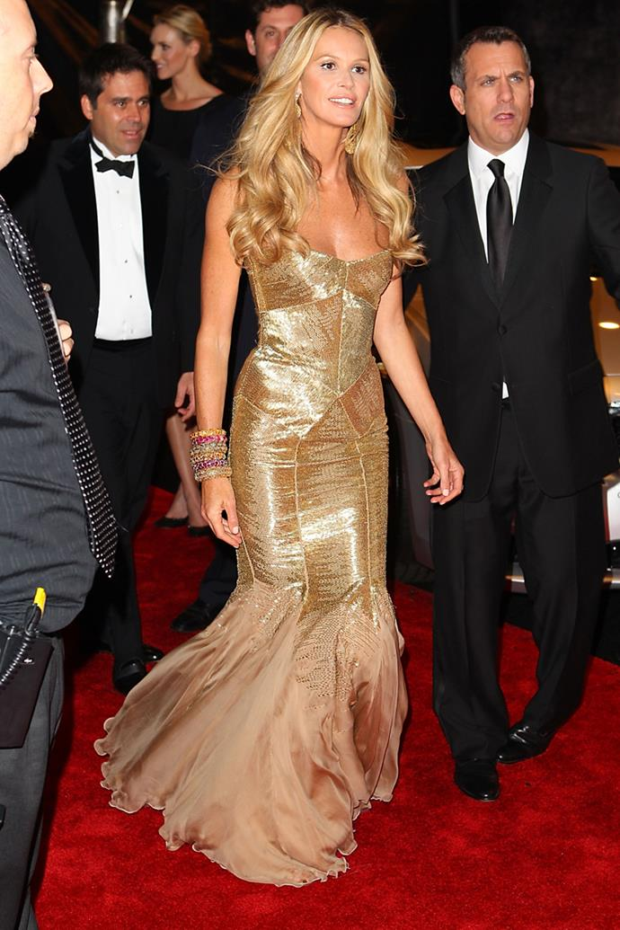 Elle Macpherson at the 69th Golden Globes After Party 2012