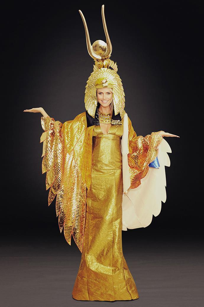 Heidi Klum's 'Cleopatra' Halloween costume, 2012