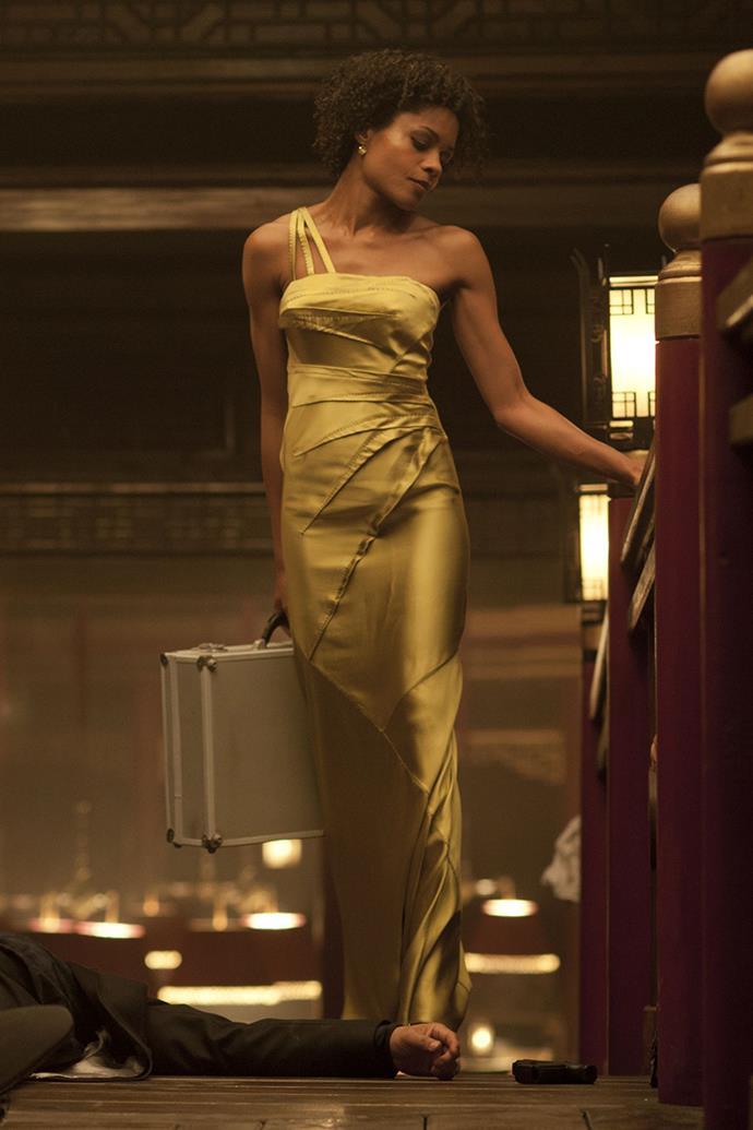Naomi Harris as Moneypenny in *Skyfall*, 2012