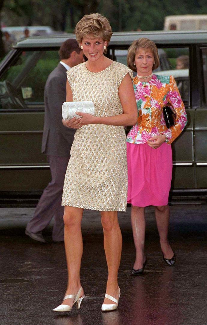 Princess Diana at the Bolshoi Ballet in Russia, 1995