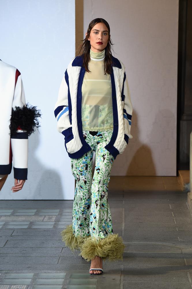 Model and designer Alexa Chung.
