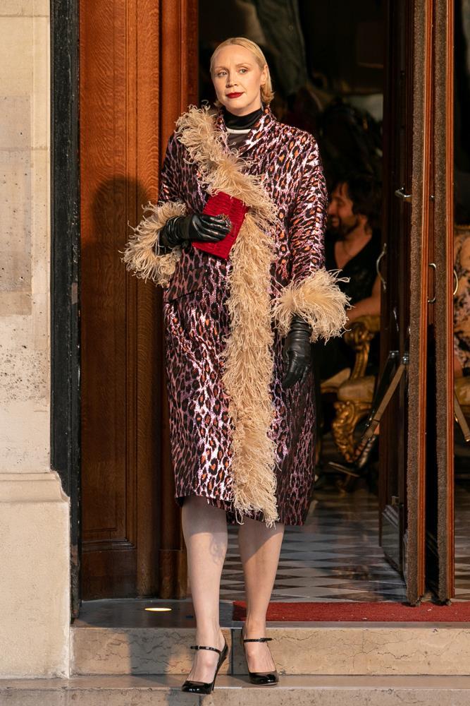 Actress Gwendoline Christie.