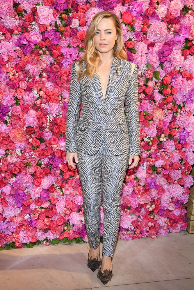 Melissa George, at Schiaparelli.