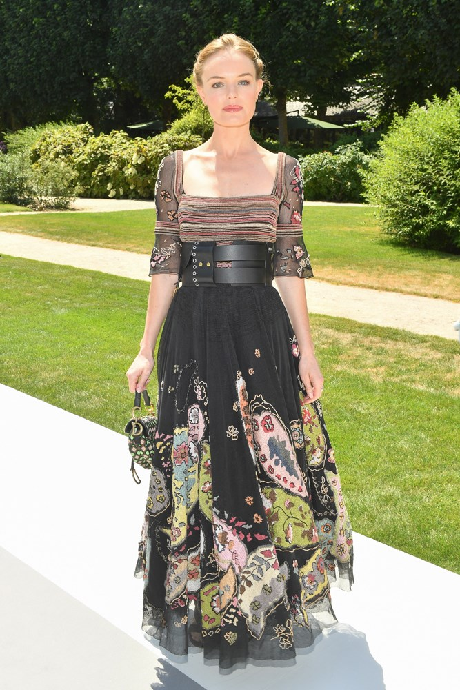 Kate Bosworth, at Christian Dior.
